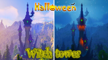 witch tower Minecraft Map & Project