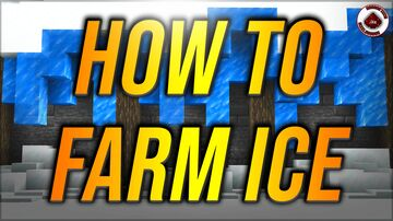How to farm ice Minecraft Minecraft Map & Project