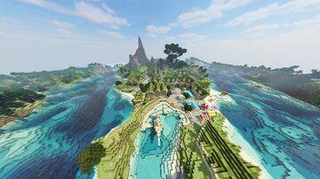 Elven Village+Interiors... Minecraft Map & Project