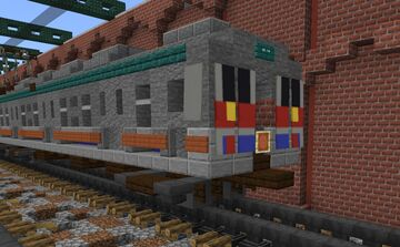 Keisei Electric Railway 3500 series commuter train (UNREFURBISHED) Minecraft Map & Project