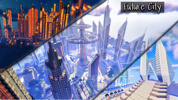 THE BEST MEGA FUTURE CITY IN MINECRAFT, ¡INCREDIBLE! VIDEO REVIEW Minecraft Map & Project