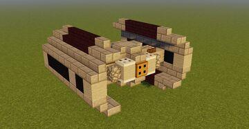 Star Wars [OT] TIE Advanced [Upd] Minecraft Map & Project