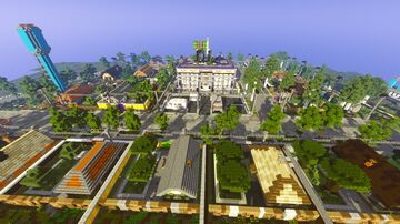 Village called Mystery Minecraft Map & Project