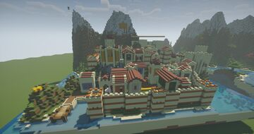 Patras | A byzantine city in Minecraft | Age of Ruin Minecraft Map & Project