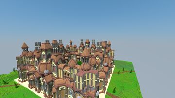 [5$] Giant Faction Spawn + WarZone ! Minecraft Map & Project
