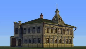The mansion of the merchant Solntsev [Особняк купца Солнцева] Minecraft Map & Project