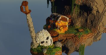 Misery of a pirate Minecraft Map & Project