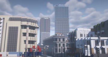 SaiGon Centre Minecraft Map & Project