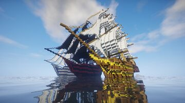 Pirate Ships/18th Century Ships (1.14.4 would be the best) Minecraft Map & Project