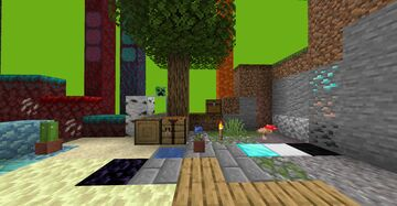 Texture Pack Test Map Minecraft Map & Project