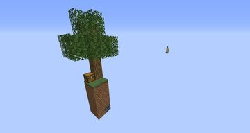 Skyblock but on 4 blocks Minecraft Map & Project