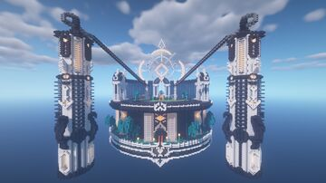 Minecraft Floating fortress Minecraft Map & Project