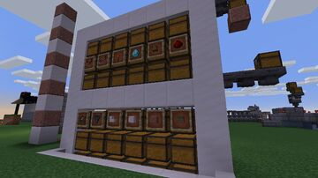 Uitbreiding auto-sorter Minecraft Map & Project