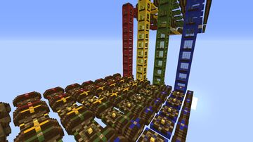Lucky Block Race Map 4 Minecraft Map & Project
