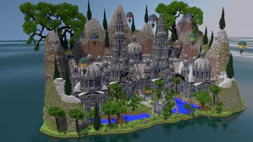 🏛 Medieval Castle Spawn ► [FREE DOWNLOAD] 🏛 Minecraft Map & Project