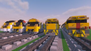 Queensland Rail Trains Pack 1.5:1 [Schem Download] Minecraft Map & Project