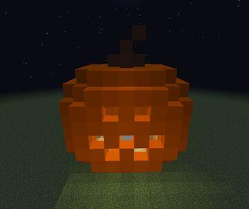 Jack-O-Lantern Minecraft Map & Project