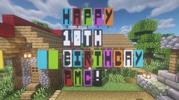 Village Celebration Minecraft Map & Project
