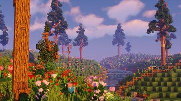 Flower Fields & Shepherd's House Minecraft Map & Project