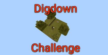 Dig Down Challenge Minecraft Map & Project