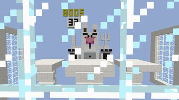 White Bunny Boss Fight Minecraft Map & Project