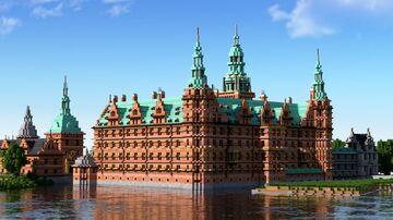 Frederiksborg castle - minecraft 1:1 replica Minecraft Map & Project