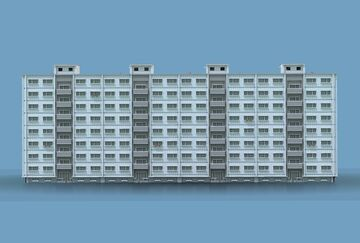 Concrete block of flats | Krysot Minecraft Map & Project