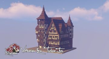 Victorian Era Tudor Inn Minecraft Map & Project
