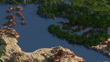 Closed world RPG - 5000x5000 Minecraft Map & Project