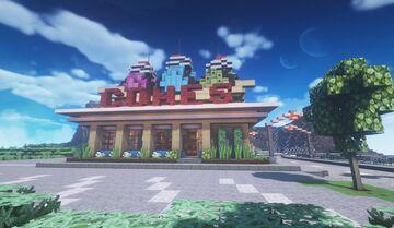 CONES Ice Cream Parlor Minecraft Map & Project