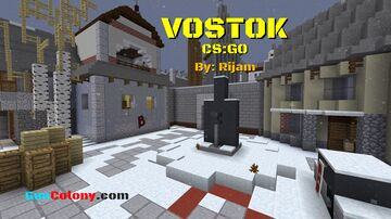 Vostok (CS:GO Recreation) [GunColony.com] Minecraft Map & Project