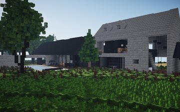 Modern Barn Conversion ||BPN SERVER Minecraft Map & Project