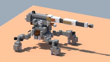 StarWars AV-7 AntiVehicle cannon [With download] Minecraft Map & Project