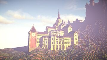 Medieval Castle V4.0: Grand University Minecraft Map & Project