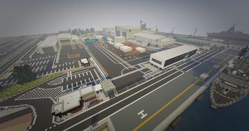ASC - Naval Ship Building Yard Minecraft Map & Project