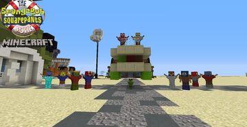 Bob Esponja em busca da coroa Minecraft Map & Project