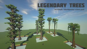 Legendary trees pack Minecraft Map & Project