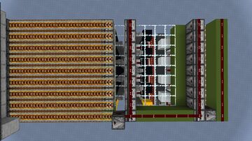 Vertical Instant Wire Decoder Minecraft Map & Project