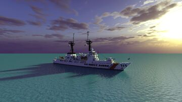 USCGC Mellon Minecraft Map & Project