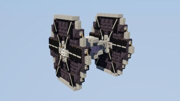 TIE/ln Space Superiority Starfighter Minecraft Map & Project