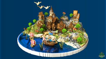 ⭐ EXCLUSIVE ⭐ Dias Lobby - AliensBuilds ⛵ Minecraft Map & Project