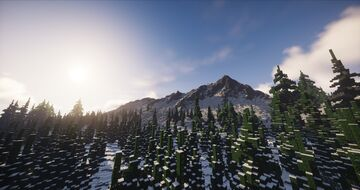 Custom Minecraft Snow map 3k x 3k (Worldpainter) Minecraft Map & Project