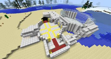DanTDM's Lab With Mods Minecraft Map & Project