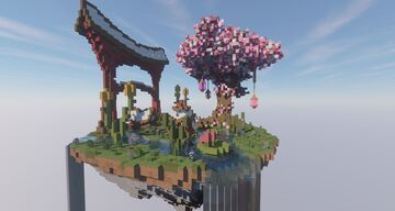 Oriental Spawn Island Minecraft Map & Project