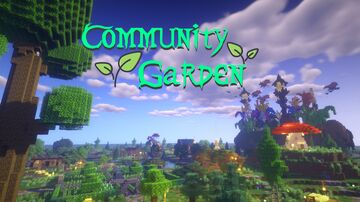 Community Garden Event 🌿 Map Minecraft Map & Project