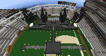 Concert @ Greenfield's Baseball Stadium Minecraft Map & Project