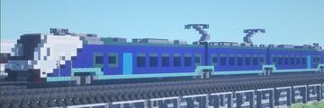 1.5:1 scale FLIRT train. Minecraft Map & Project