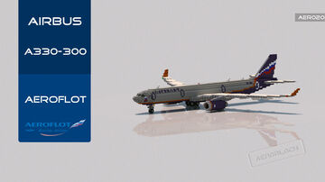 Airbus A330-300 Aeroflot [+Download] [C] Minecraft Map & Project