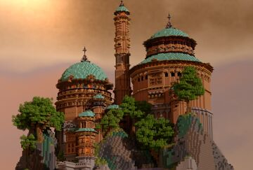 """Naboo Apartaments (star wars)"" Minecraft Map & Project"