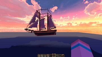 Ship THE FOSTER TRANSPORT Minecraft Map & Project